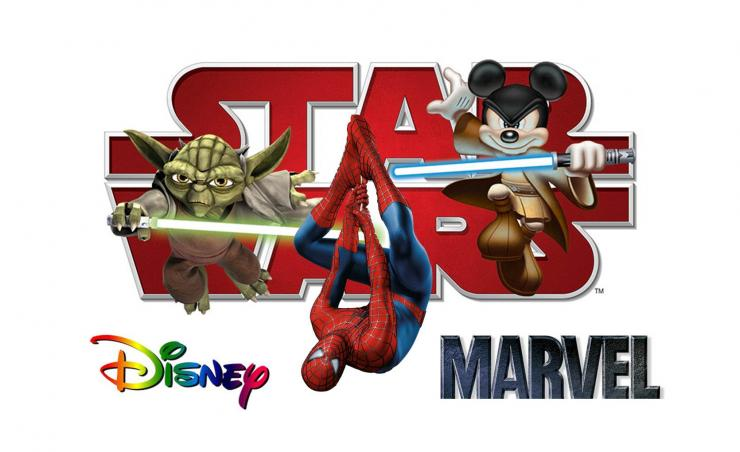 Disney-StarWars-Marvel