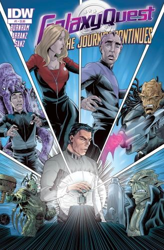 Galaxy Quest comic
