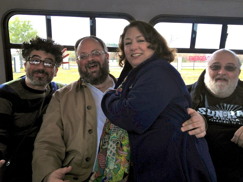 John Hudgens, Maggie Cunningham, Peter David