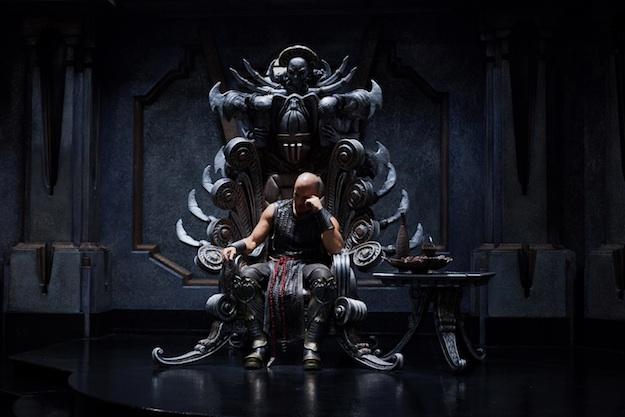 Riddick-Throne