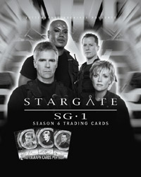 Stargate SG-1 Season 6 Cards