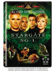 Stargate SG-1 Season 5 DVD