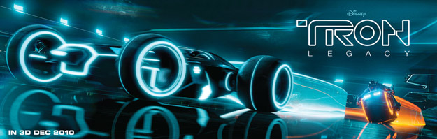 Tron Light Car